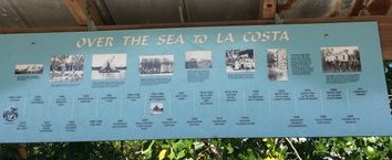 Over the Sea to La Costa timeline